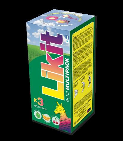 Likit Multipack 3 x 650 g