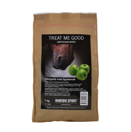 Hästgodis- Treat me Good Äpple 1kg
