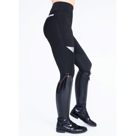Ridtights Maximilian Tech- Svart/Silver (knee grip)