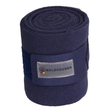 Fleecebandage 4-pack Mörkblå