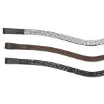 Pannband Swarovski 4 row curved