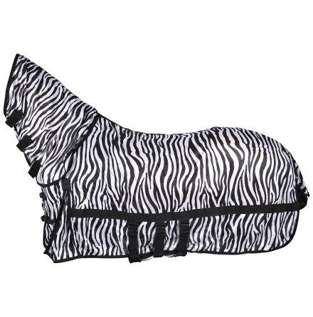 Flugtäcke med combohals Zebra