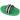 Ryktskrapa i plast Grön