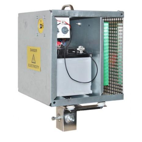 Metallbox låsbar för aggregat 12V