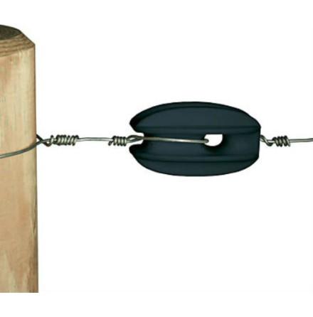 Hörn- & slutisolator för tråd