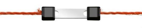 Skarvlås Profi LitzClip för eltråd 3 mm