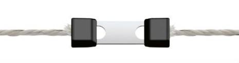Skarvlås Profi LitzClip för elrep 5 mm