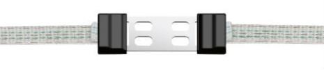 Skarvlås Profi LitzClip för elband 20 mm