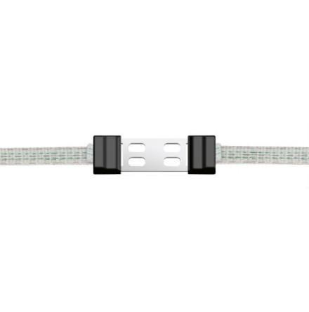 Skarvlås Profi LitzClip för elband 40 mm