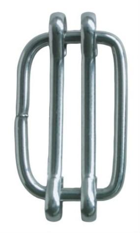 Skarvlås rostfri 12 - 20 mm