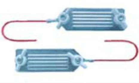 Anslutningskabel rostfri elband / elband